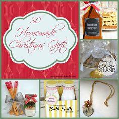 50 homemade christmas gifts - Great Homemade Christmas Gifts