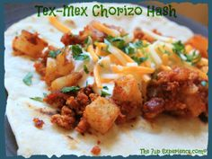 Tex-Mex Chorizo Hash - Powered by @WP Ultimate Recipe