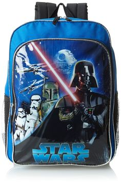 ce3a6dd2f8a Accessory Innovations Big Boys  Starwars Darth Vader Storm Troopers Backpack