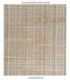 Fascination Woven Fabric, color birch