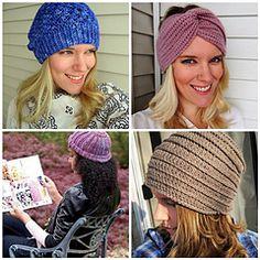 Ravelry: Crochet Cap Quartet