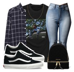"""""""Untitled #141"""" by trillqueen34 ❤ liked on Polyvore featuring Band of Outsiders, Vans and MICHAEL Michael Kors"""