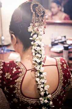 bridal hairdo  #indianwedding, #southasianwedding, #shaadibazaar