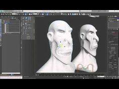 Facial Rigging Blended Morph 01