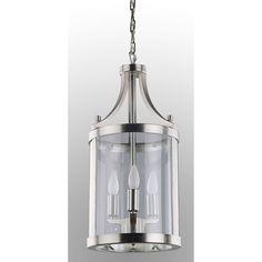 Gallery 9-light Silver/ Empire Crystal Chandelier (crystal ...