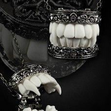 """""""Vampire Aristocrat"""" Locket. www.nixdungeon.co.nz"""