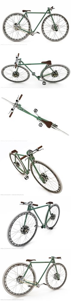 XXXVI DG – 36″ concept bike by Paolo De Giusti | Shared from http://hikebike.net