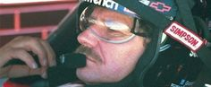 The Intimidator in his everyday office.