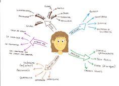 Carte mentale de présentation / 1er jour de classe.