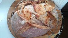 Kovászos cipó French Toast, Bread, Breakfast, Food, Morning Coffee, Meal, Essen, Hoods, Breads