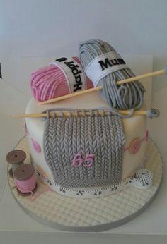 torta tejida :)