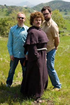 """Nacho Libre...one of the most underrated comedies of all timez. Jack Black is an AMAZING character actor in this movie! One of """"the besst"""" movies EVER!"""
