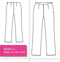 Design and Make your own Patterns: Introducing the Basic Pant Sloper