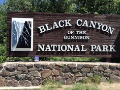 At Black Canyon of the Gunnison in Montrose Colorado.