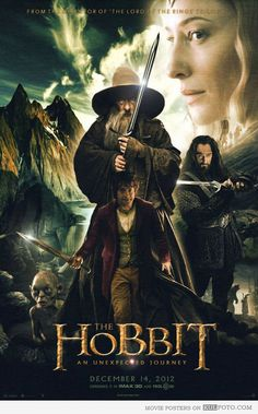I always thought the poster of the animated version of LOTR by Ralph Bakshi is cool.Gandalf and the Hobbit. THE HOBBIT Legolas, Tauriel, Gandalf, Hobbit Feet, O Hobbit, Tolkien, Fellowship Of The Ring, Lord Of The Rings, Journey 2012
