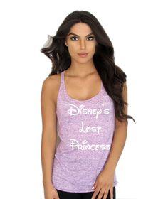 Disney's Lost Princess Women's Loose Racerback Tank