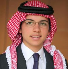 Prince Hussein bin Abdullah, Crown Prince of Jordan.  Son of King Abdullah and Queen Rania of JORDAN.