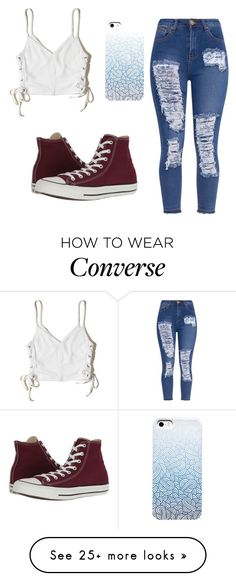"""""""Patches"""" by kitkatbc on Polyvore featuring Hollister Co. and Converse"""