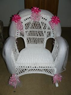 Baby Shower Chair For The Mother To Be