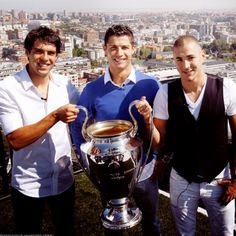 My 3 favorite soccer players from Real Madrid! :)
