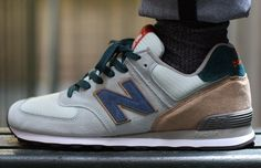 "New Balance 574 Kiosk Customs ""C-Note"""