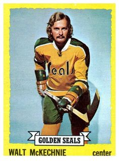 1973 Topps Walt McKechnie California Golden Seals