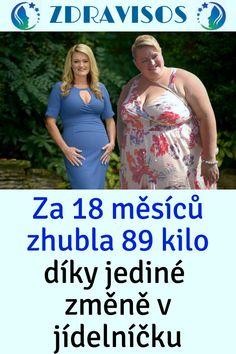 Za 18 měsíců zhubla 89 kilo díky jediné změně v jídelníčku Smoothie, 18th, Beauty, Diet, Smoothies, Beauty Illustration