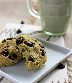 Healthy Chocolate Chip Cookies - No butter, no oil but SO soft and chewy! You NEED to try these! | Foodfaithfitness.com | @FoodFaithFit
