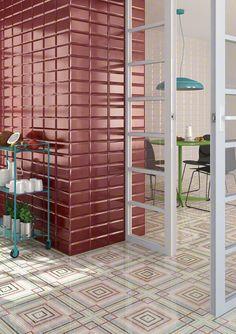 Serie RIVOLI  es un revestimiento de la colección BOULEVARD perfecto para tu cocinas.