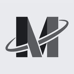 M alphabet logo technology design | premium image by rawpixel.com / Kappy Kappy Vector Technology, Technology Design, Image Photography, Business Logo, Brand Identity, Slogan, Brand Names, Pattern Design, Badge