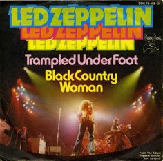 Led Zeppelin 45 RPM Cover