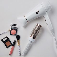 The beauty crew that's as gorgeous as you. The Featherweight Luxe 2i in all it's shining glory. #hair #hairdryer