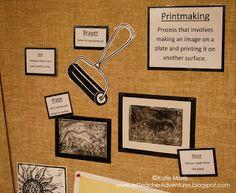 Adventures of an Art Teacher: bulletin board