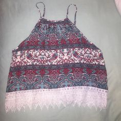 Patterned tank top Brand new LA Hearts Tops Tank Tops