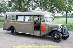 1934, BBA oude bus , in bezit van Stichting Veteraan Autobussen