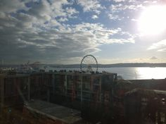 View of downtown Seattle from Pike's Place