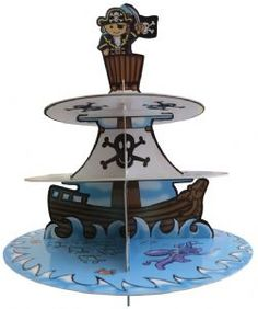 New 3 tier Pirate Cake Stand £4.99 see the collection