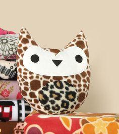 Stuffed Owl Accent at Joann.com