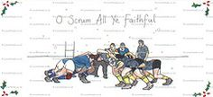 Rugby Christmas cards? Yes please.