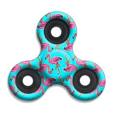 This flamingo fidget spinner is just one of over 60 Spinner Squad spinner designs. Spins for 4+ minutes. Voted #1 for fastest and longest spin.
