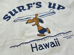 SNOOPY SURF'S UP T-shirt | Sumally