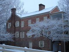 President Andrew Johnson's home in Greeneville, TN
