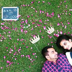 Save the date #savethedate #prewedding  #preweddingconcept #concepts #engagementphotos #fun #flowers #style #bollywoodstyle #colors #weddingphotography #photographyconcepts #preweddingideas