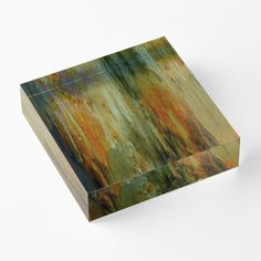 'Onyx Stalactites' Acrylic Block by Faye Anastasopoulou Decorative Throw Pillows, Decorative Items, Home Office Accessories, Theme Pictures, Colourful Living Room, Fancy Houses, Framed Prints, Art Prints, Orange Brown