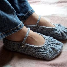 CROCHET PATTERN Boho Ballet Flats  Pattern PDF by hollanddesigns, $4.99