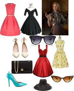 """""""Mad men style"""" by henriette-lund on Polyvore"""