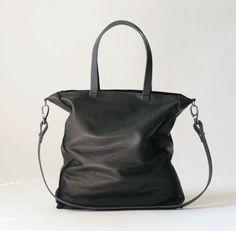 Ellen Truijen Deluxe tote bag in cashmere ebony