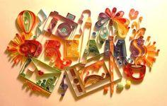 TATI BARROS - Com arte, com estilo, com amor...: QUILLING - ARTE COM PAPEL