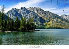 Jenny Lake in Grand Teton National Park by Greg Norrell. Prints start at $29. #Tetons #nature #photography
