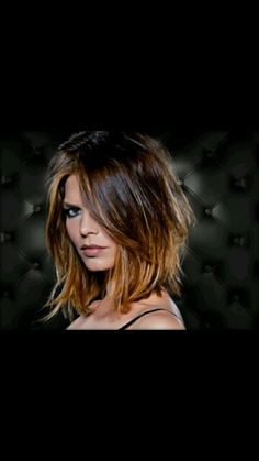 short ombre---I-love this! Hmmm wonder if my hairstylist would even consider l. short ombre---I-l Pretty Hairstyles, Bob Hairstyles, Bob Haircuts, Medium Hair Styles, Short Hair Styles, Brown Ombre Hair, Blonde Ombre, Hair Affair, Great Hair